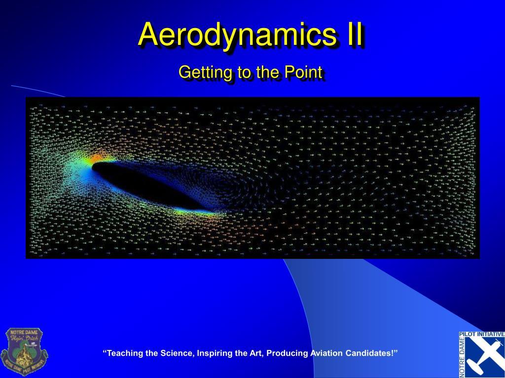 aerodynamics ii l.