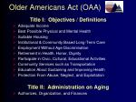 older americans act oaa5