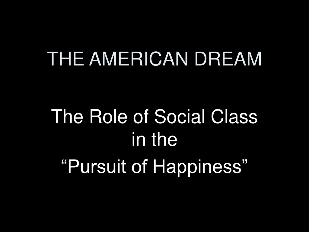 the american dream l.