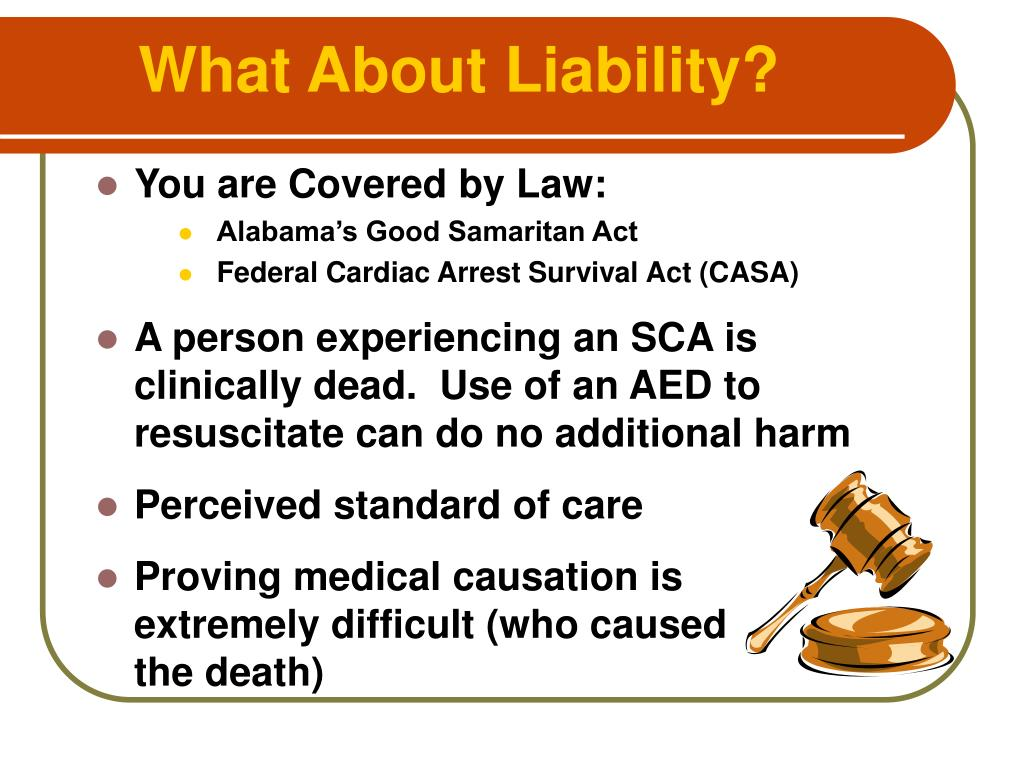 What About Liability?