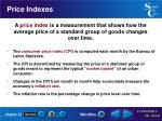 price indexes