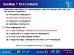 section 1 assessment7