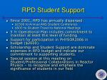 rpd student support