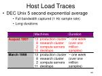 host load traces