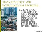 urban resource and environmental problems25