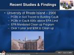 recent studies findings10