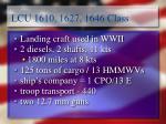 lcu 1610 1627 1646 class