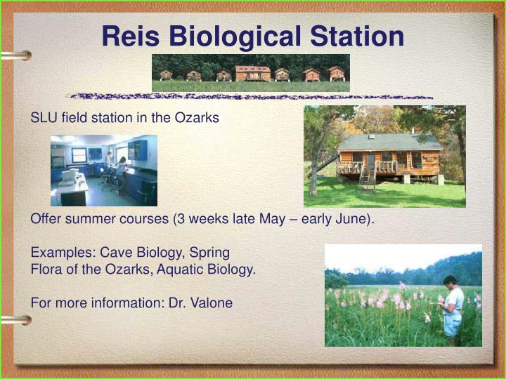 Reis Biological Station
