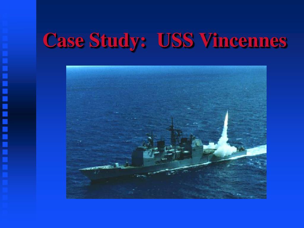 case study uss vincennes l.