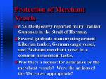 protection of merchant vessels