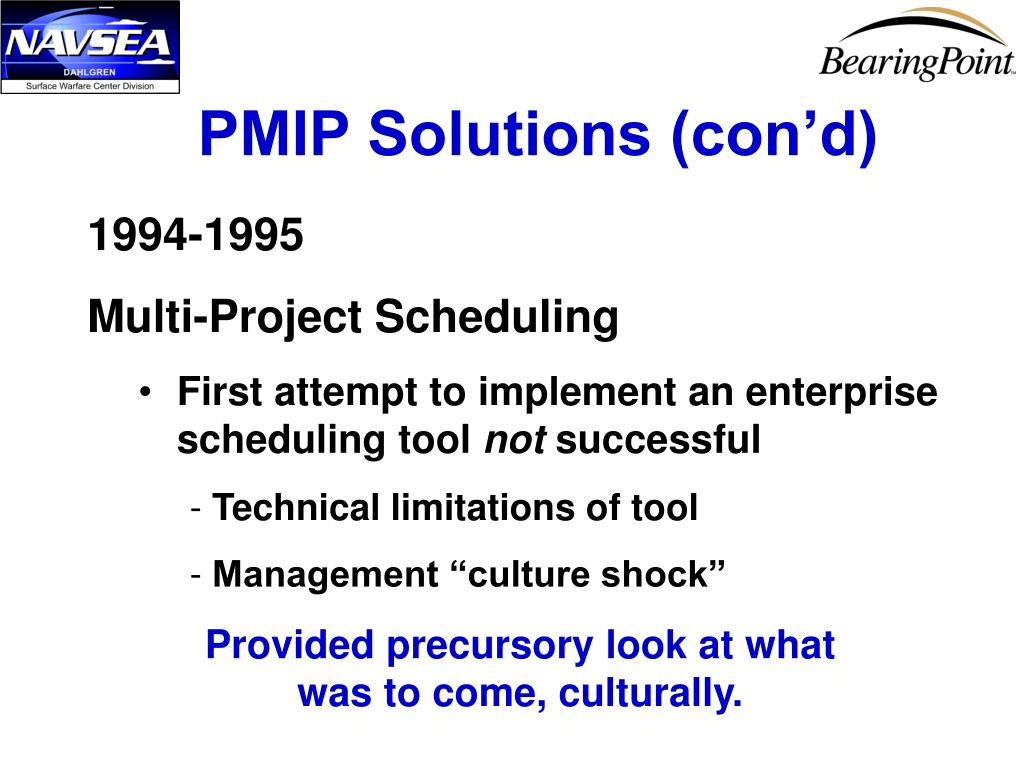 PMIP Solutions (con'd)