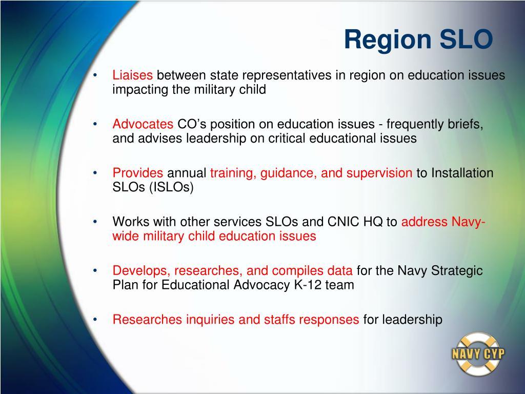 Region SLO