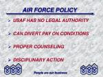 air force policy1