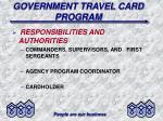 government travel card program1