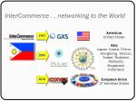 intercommerce networking to the world