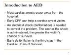introduction to aed