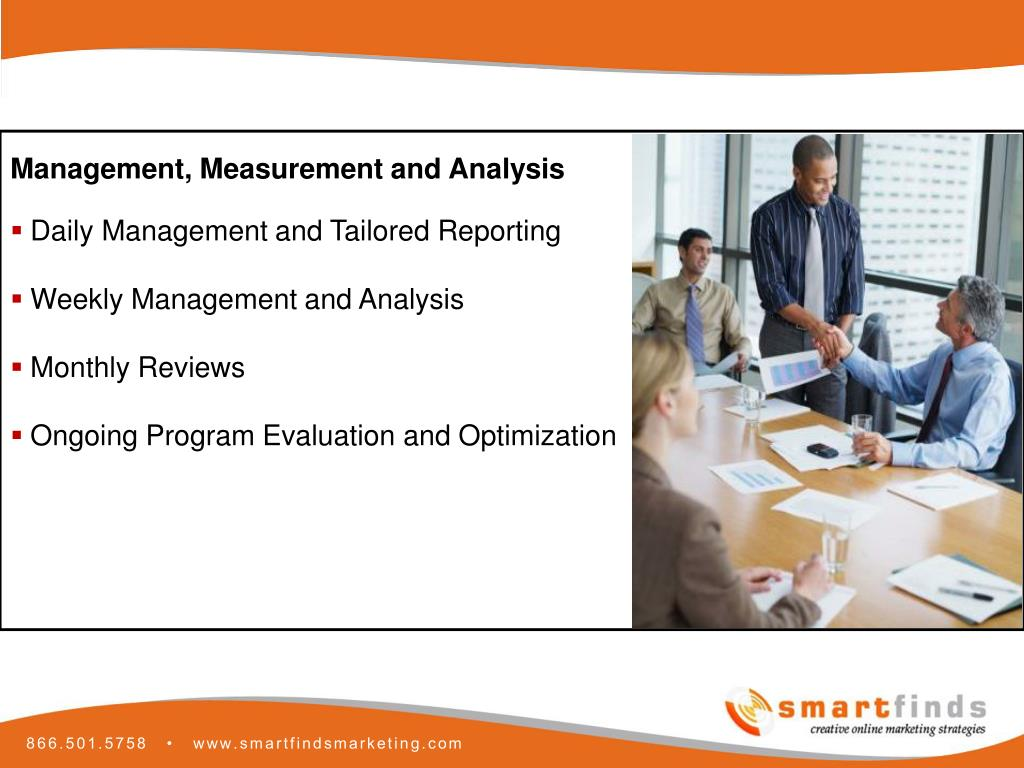 Management, Measurement and Analysis