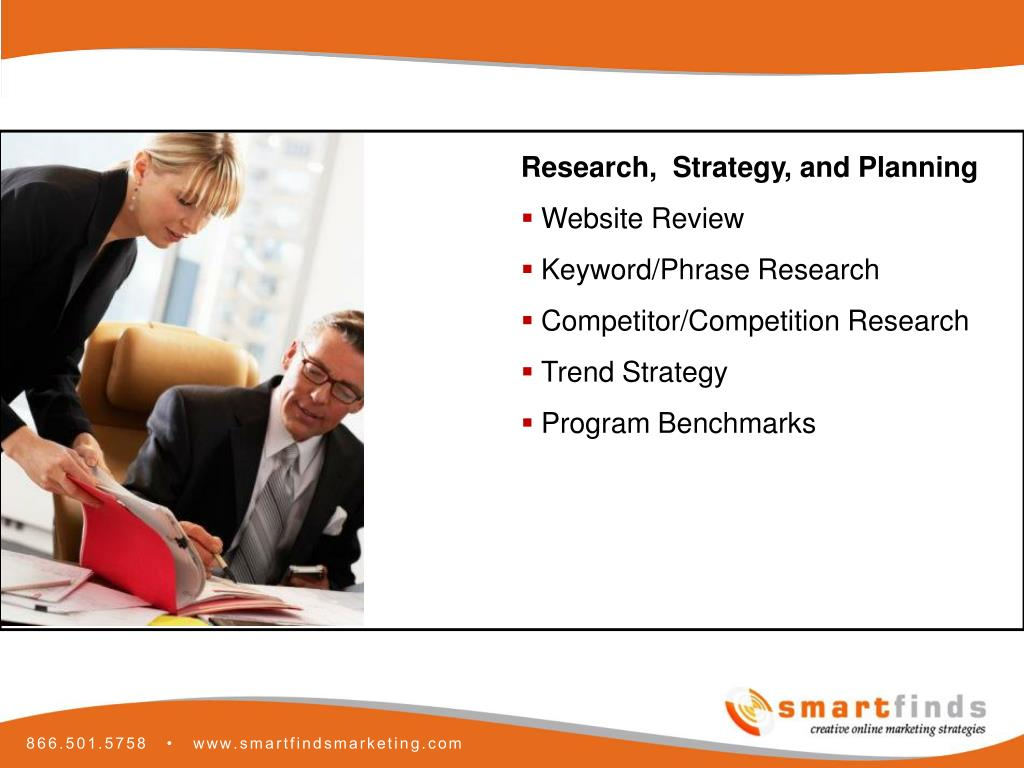 Research,  Strategy, and Planning