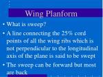 wing planform32
