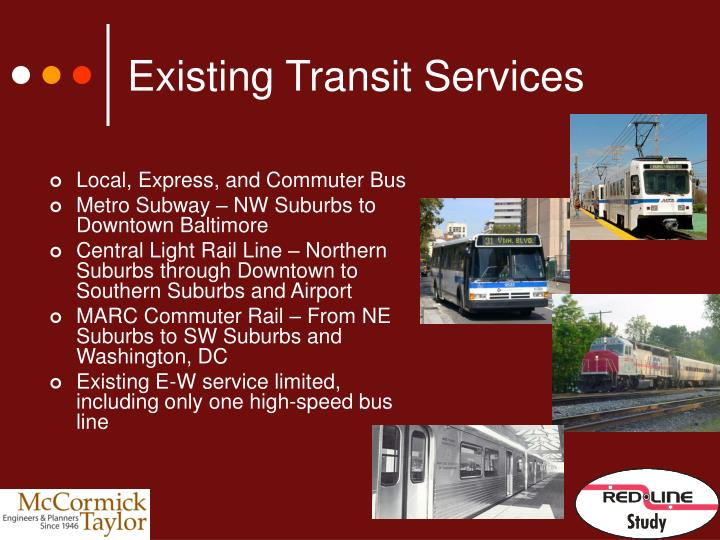 Existing Transit Services