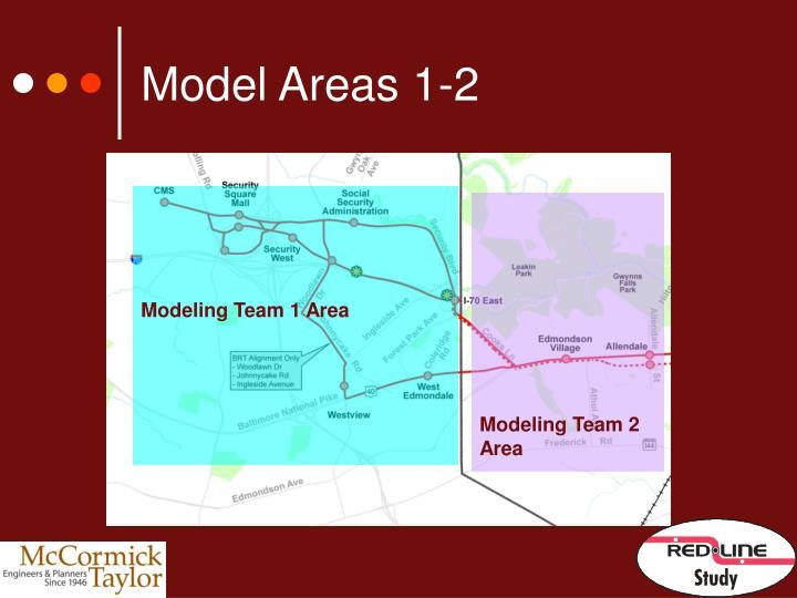 Model Areas 1-2