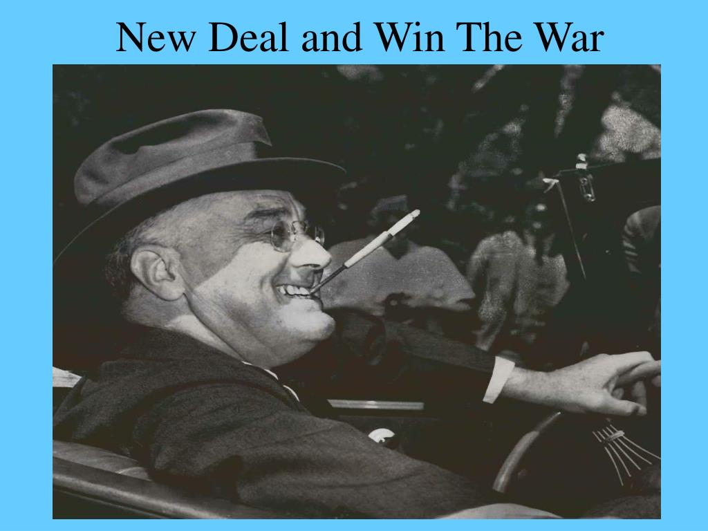 new deal and win the war l.