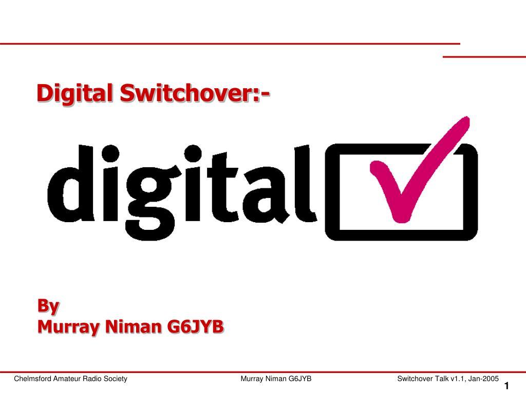digital switchover l.