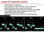london tv transmitter powers