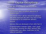 clover capital exceptions14