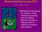 motivational interviewing m i rollnick s miller w r 1995