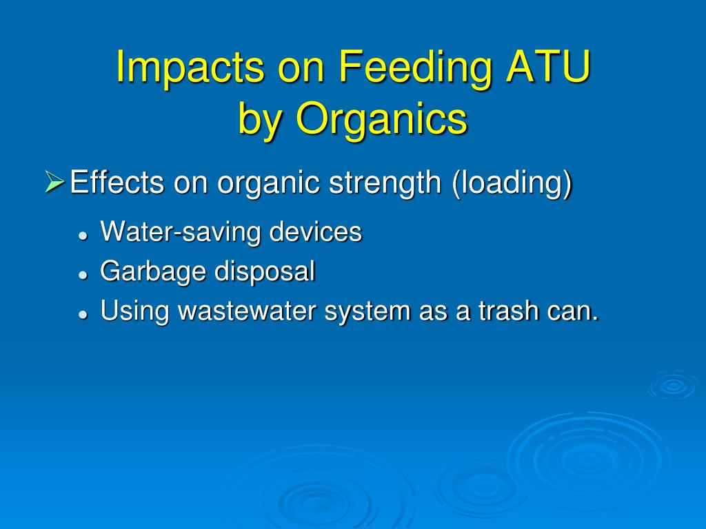 Impacts on Feeding ATU