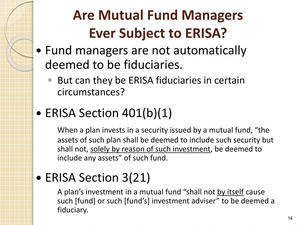 Are Mutual Fund Managers