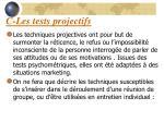 c les tests projectifs62