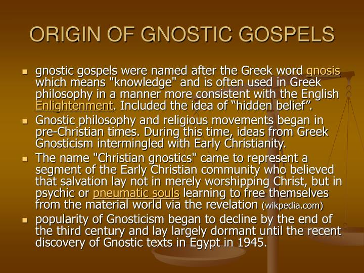 gnosticism essay Gnosticism essays: over 180,000 gnosticism essays, gnosticism term papers, gnosticism research paper, book reports 184 990 essays, term and research papers available for unlimited access.