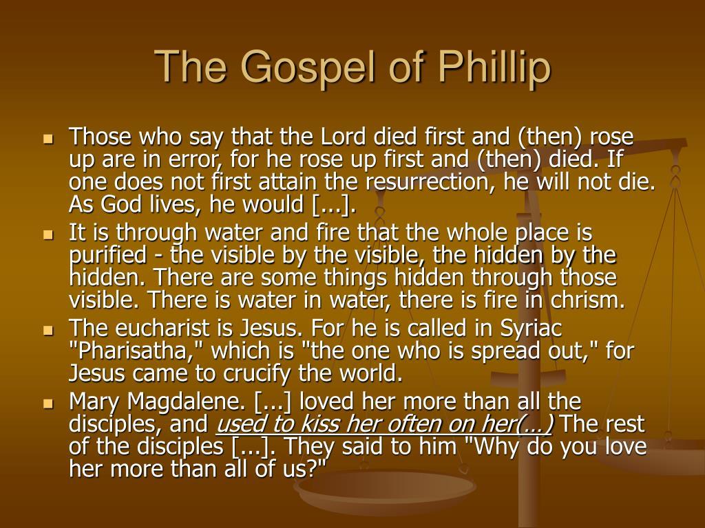 The Gospel of Phillip