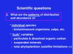 scientific questions7