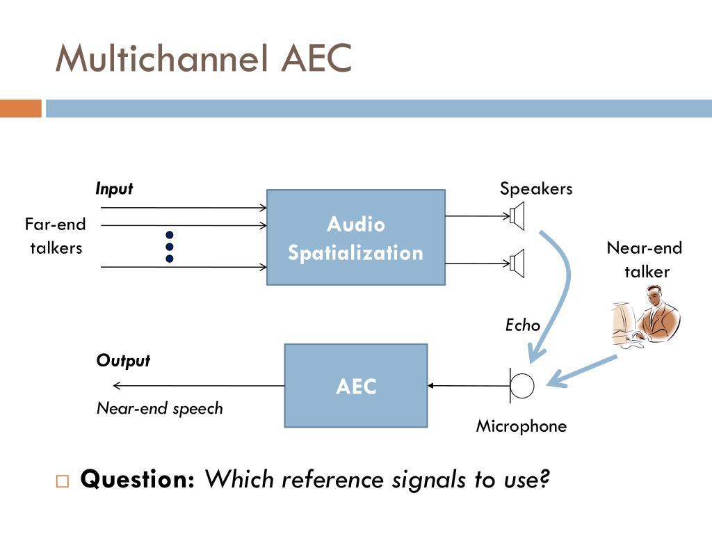Multichannel AEC