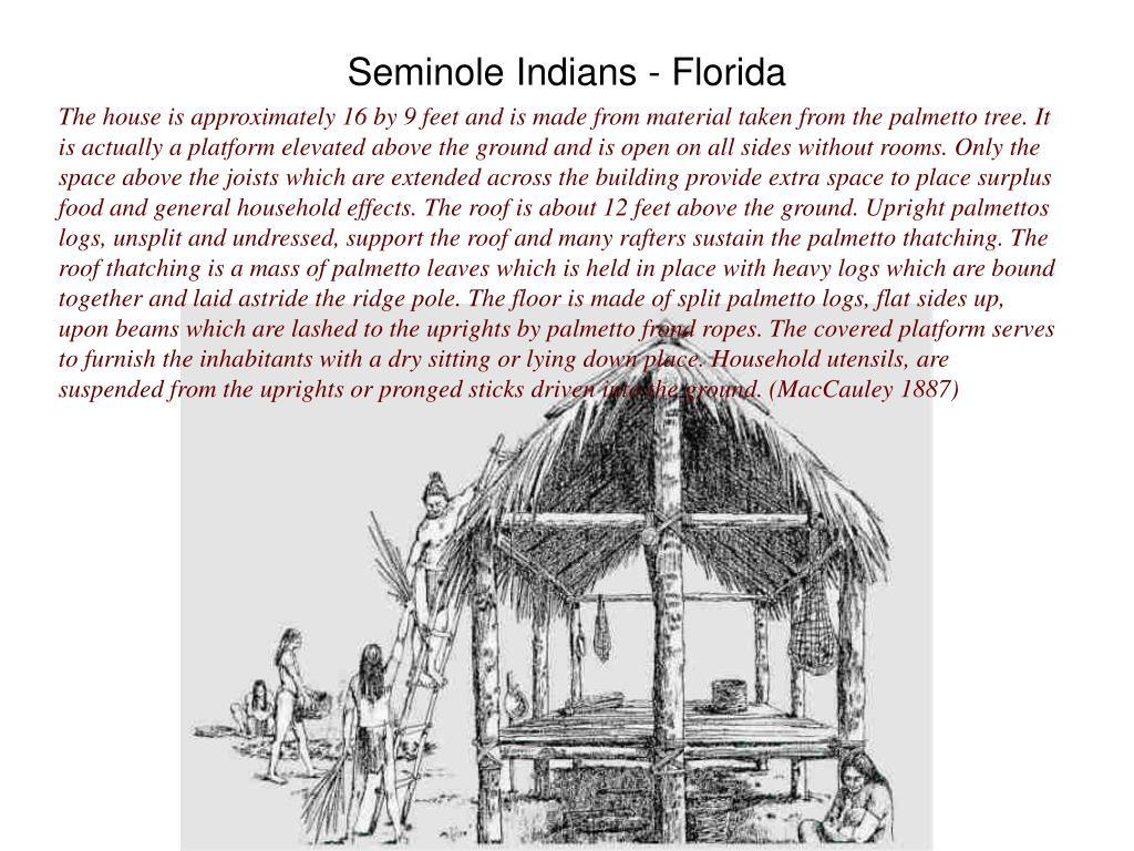 Seminole Indians - Florida