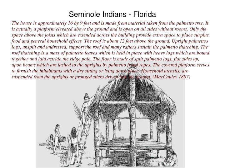 Seminole indians florida