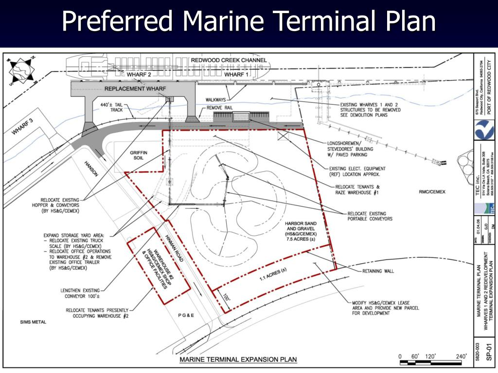 Preferred Marine Terminal Plan