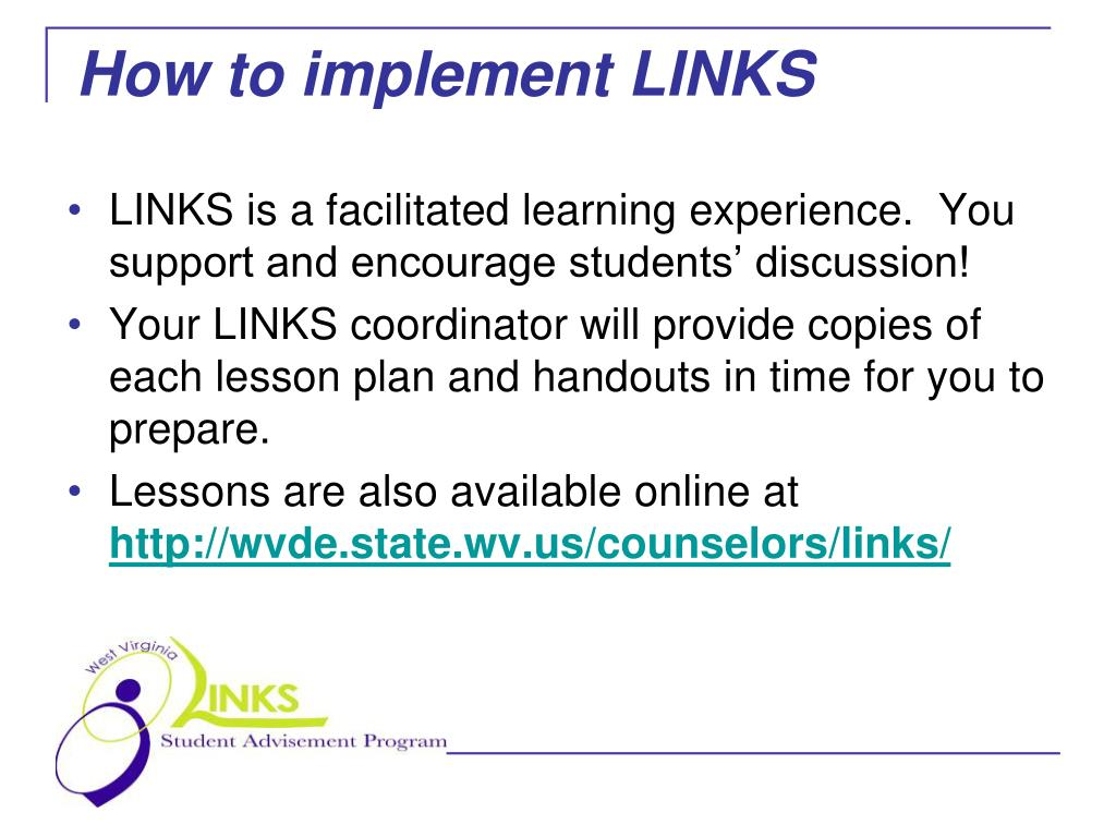 How to implement LINKS