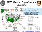 atec mission organization locations