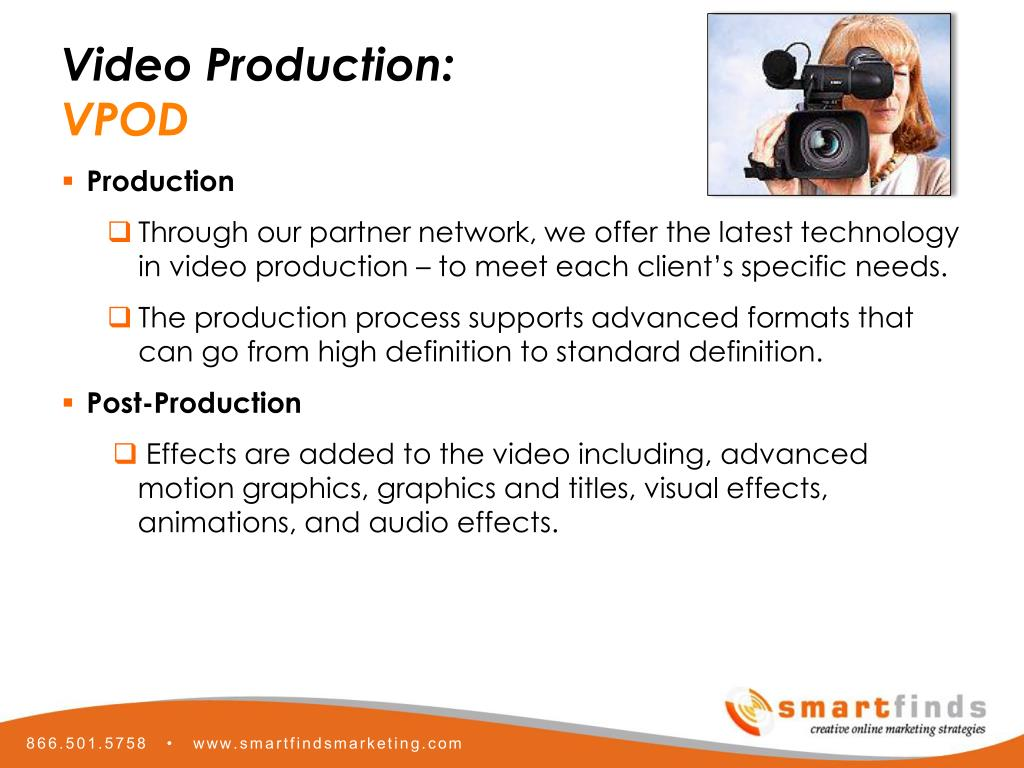 Video Production: