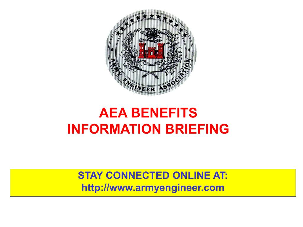 aea benefits information briefing l.