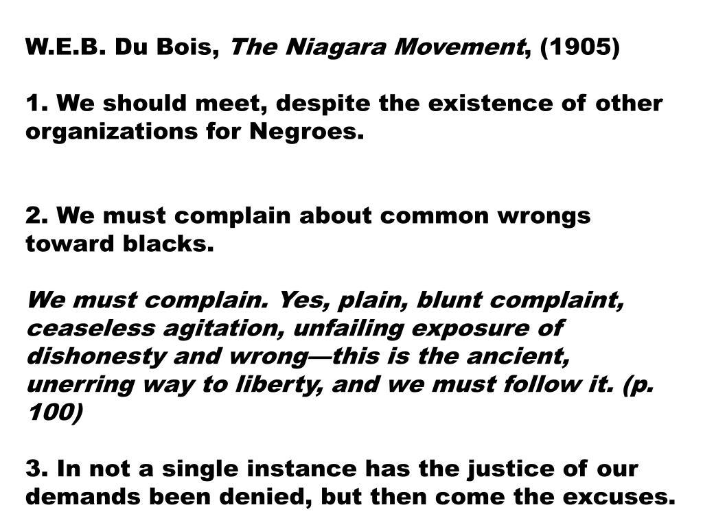 W.E.B. Du Bois,