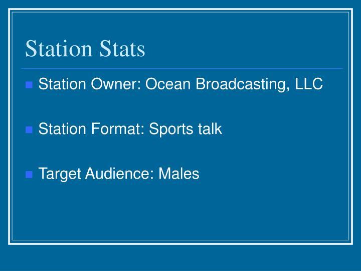 Station stats