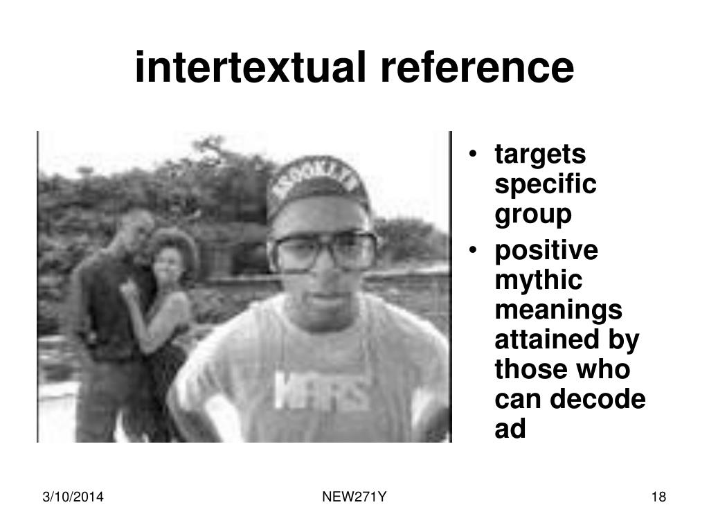 intertextual reference