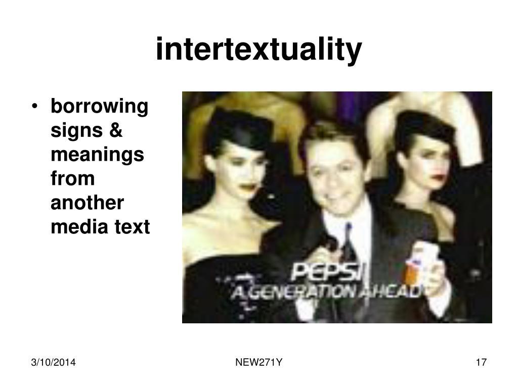intertextuality