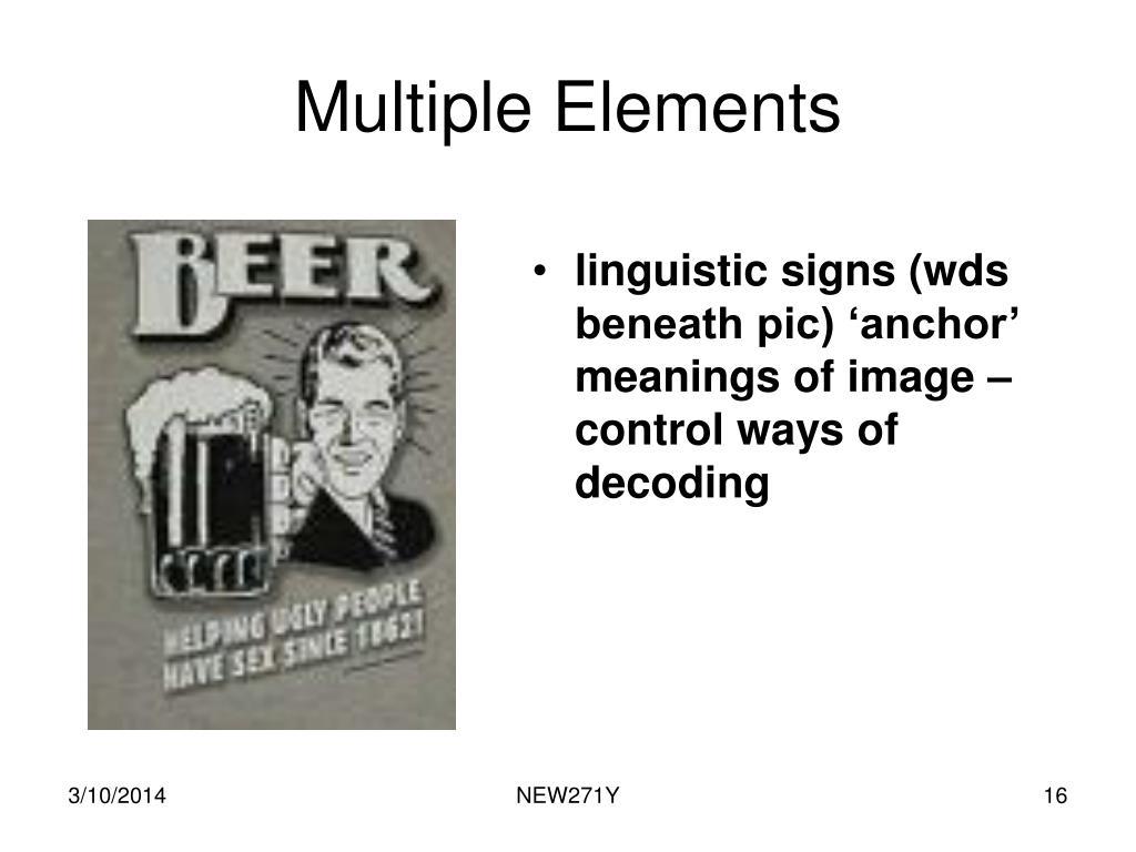 Multiple Elements