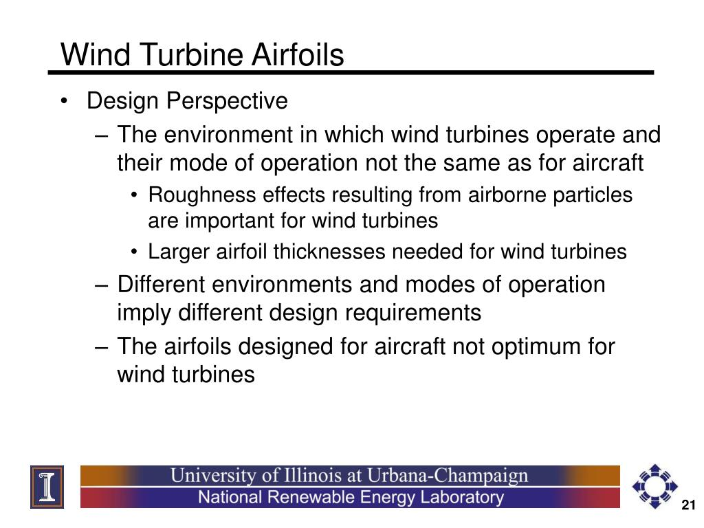Wind Turbine Airfoils